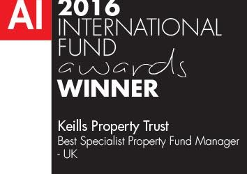 Keills Win Best Specialist Property Fund Manager – UK