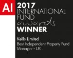Keills Win Best Independent Property Fund Manager – UK